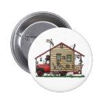 Botones del campista del Hillbilly del campesino s Pins