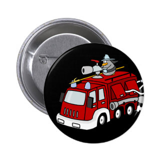 Botones del coche de bomberos (seguridad contra in pins