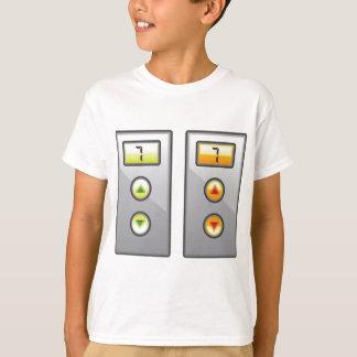 Botones del elevador playera