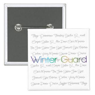 Botones del guardia del invierno pin