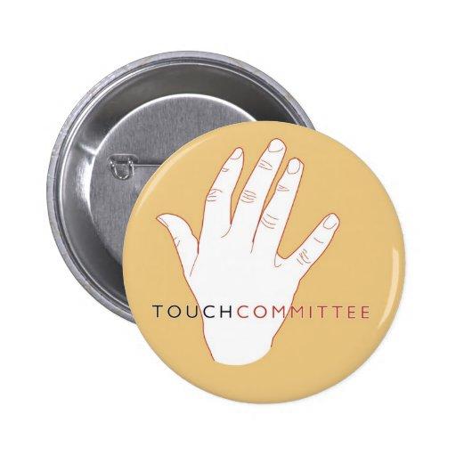Botones del logotipo de la mano pequeños pins