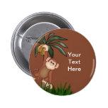 Botones del mono pin