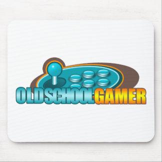 Botones del palillo de la arcada del videojugador  alfombrillas de raton