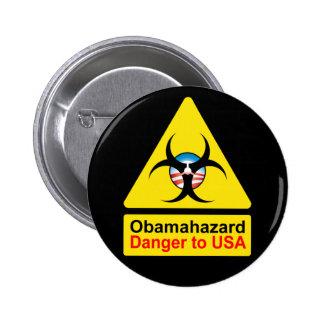 Botones del peligro de Obama