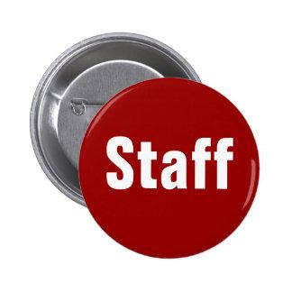 Botones del personal pin redondo de 2 pulgadas