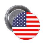 Botones del pinback de la bandera americana pins