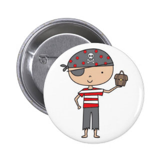 Botones del pirata pin