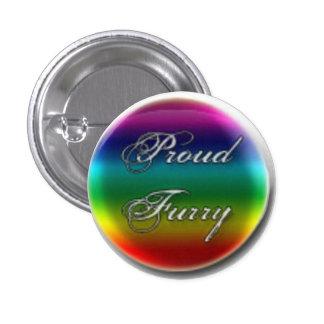 Botones expresivos del arco iris pins