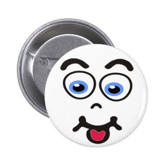 Botones Funny_Face #2 Pin Redondo De 2 Pulgadas