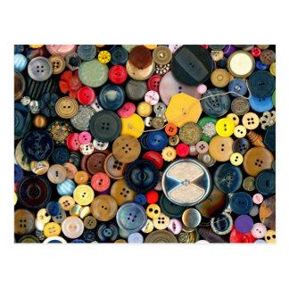 - Botones - manojo de costura de botones Postales