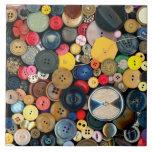 - Botones - manojo de costura de botones Teja