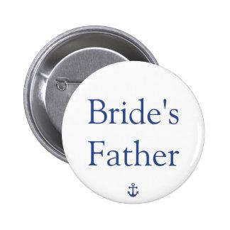 Botones náuticos del boda del padre de la novia