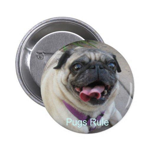 Botones personalizados de la foto pins