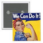 Botones: Podemos hacerlo - imagen del poster del v Pins