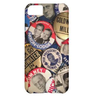 Botones políticos funda iPhone 5C