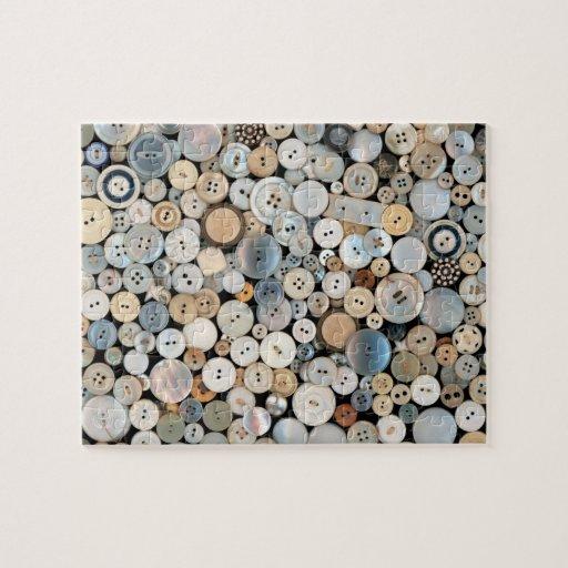 - Botones - porciones de costura de botones Puzzles