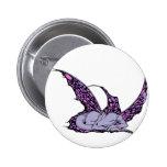 Botones (púrpuras) el dormir Dragonette Pin