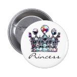 Botones reales de la Princesa Real Pin