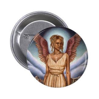 Botones redondos del ángel de guarda