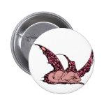 Botones (rojos) el dormir Dragonette Pin