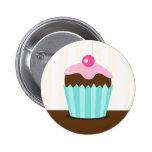 Botones rosados del favor del cumpleaños de los ch pin