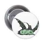 Botones (verdes) el dormir Dragonette Pin