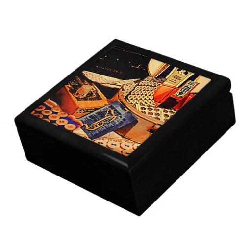 Botones y broches caja de regalo