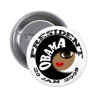 ¡Botones y camisetas de la inauguración de Obama! Pins