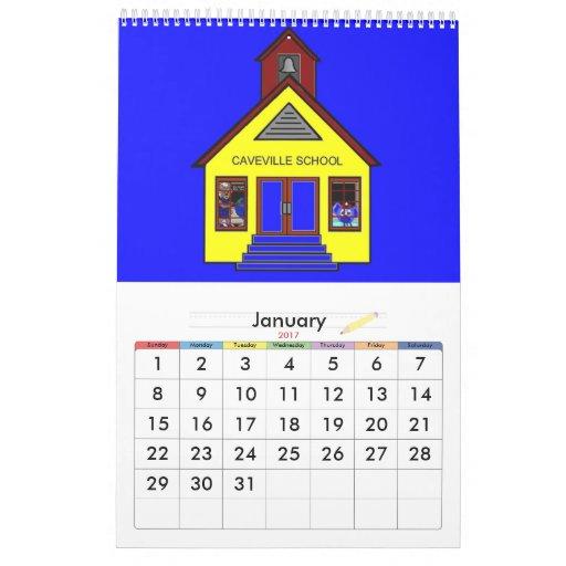 Botones y osos de encaje de las buenas maneras calendario