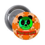 ¡Botones y regalos de Frankenpanda Halloween! Pins