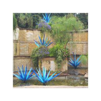 Botonical cultiva un huerto arte de la lona impresion de lienzo