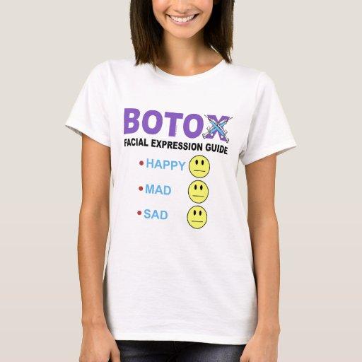 BOTOX facial expression guide T-Shirt