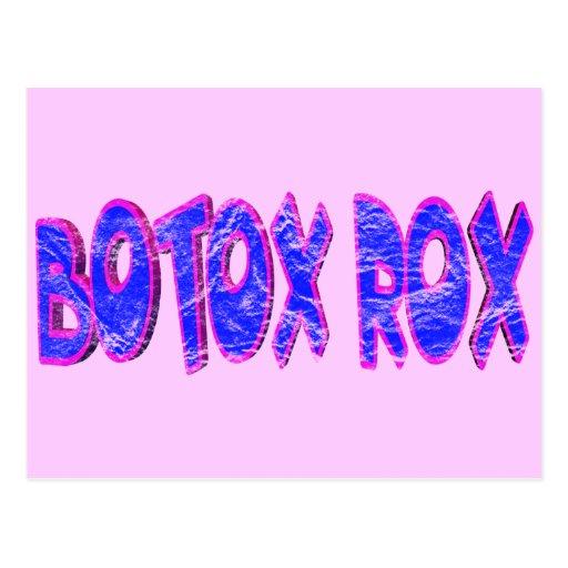 Botox oscila las camisetas y los regalos para ella postal