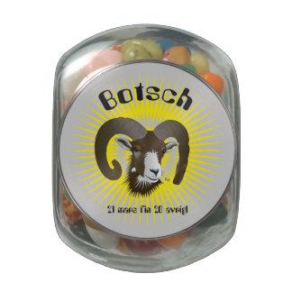 Botsch 21 Mars fin 20 avrigl Bischla Shnip Shnap Jelly Belly Candy Jars