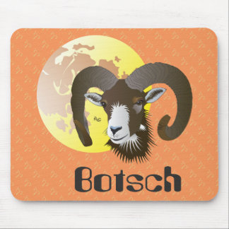 Botsch 21 Mars fin 20 avrigl Tarpunet there mieur Mouse Pad