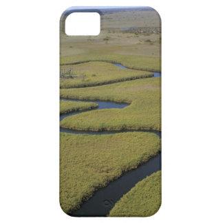 Botswana, África. Río de Okavango de la opinión de iPhone 5 Funda