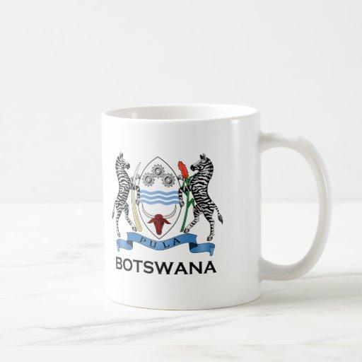 BOTSWANA - bandera/emblema/escudo de armas/símbolo Taza