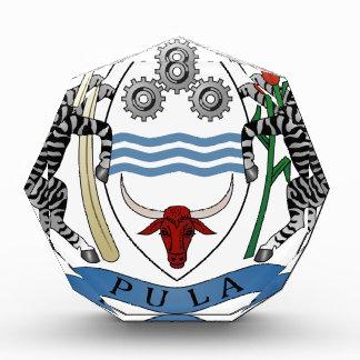 Botswana Coat of Arms Acrylic Award