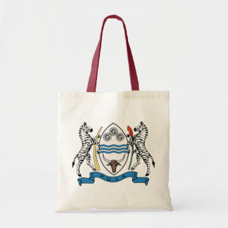 Botswana Coat of Arms detail Canvas Bags