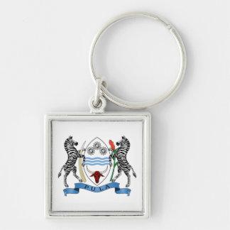 Botswana Coat of Arms Keychain