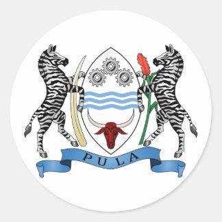 Botswana Coat of Arms Sticker