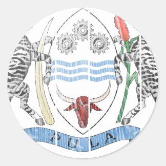 Botswana Coat Of Arms Stickers