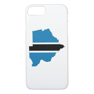 botswana country flag map shape silhouette symbol iPhone 7 case