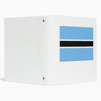 Botswana Flag Binder