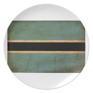 Botswana Flag Dinner Plate