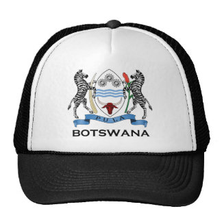 BOTSWANA - flag/emblem/coat of arms/symbol Trucker Hat