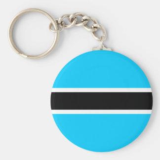 Botswana Flag Keychain