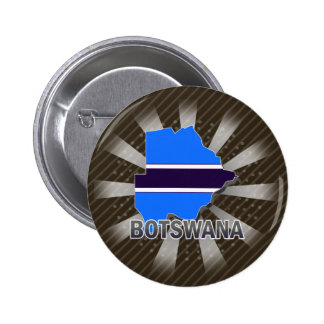 Botswana Flag Map 2 0 Buttons
