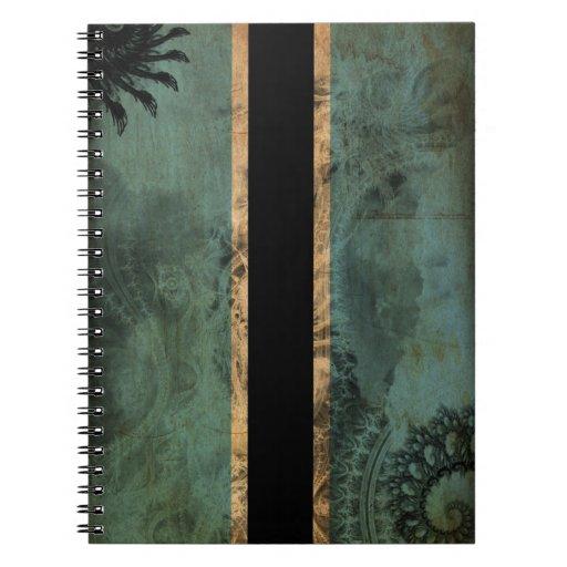 Botswana Flag Spiral Notebooks