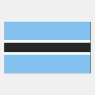 Botswana Flag Rectangular Sticker